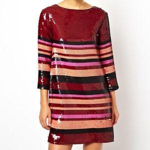 Sequin ASOS dress